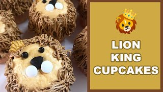 Lion King Cupcakes Inspired by Disney&#39s New Live Action Movie (Fun &amp Magical)