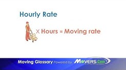 Hourly Rate - Moving Glossary - Movers.com