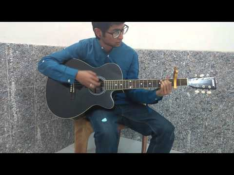 Kun faya kun(Rockstar) Acoustic cover by Shah