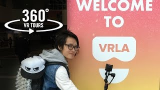 VRLA Expo 2017 - immersive 360 tour and new toys review: Guru 360, Kodak, Teradek and more