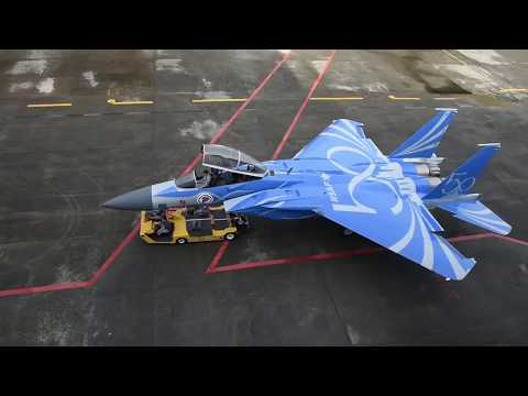 Republic of Singapore Air Force F-15SG special #RSAF50 livery, making of