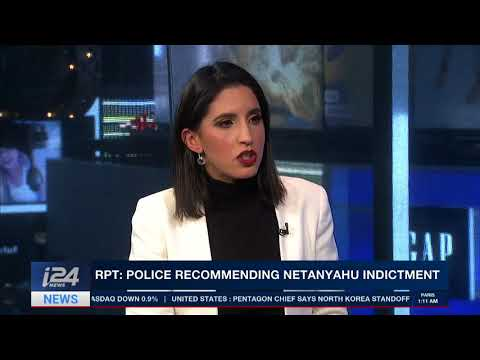 Israeli Police to recommend indicting PM Netanyahu in 'gifts affair'