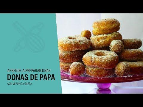¿Cómo hacer DONAS DE PAPA?