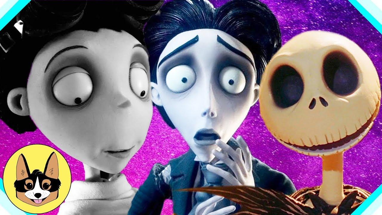 Tim Burton Theory Debunked Tnbc Corpse Bride Frankenweenie The Fangirl Youtube