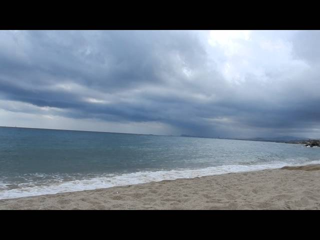 Sonido olas del mar, Sound of the sea, HD 1080p [ Sleep Music ]