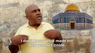This is supposed to be impossible! Muslims help Christians Enter Dome of the Rock
