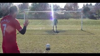 How to take a penalty kick in football | How to shoot a penalty in soccer | How to score a penalty