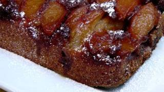 Caramel Apple Upside Down Cake Recipe - by Laura Vitale - Laura in the Kitchen Ep. 84