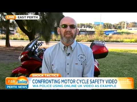 Motorbike Safety - David Wright | Today Perth News