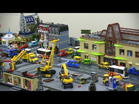 Introducing new jang city the lego layout youtube - Image lego city ...