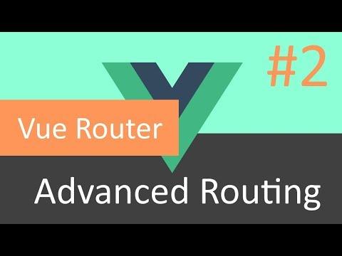 Learn Vue.js (RU): Advanced Routing #2 thumbnail