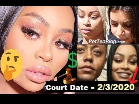 BlacChyna Dragged for 2020 Kardashian Scheduled Court Date Lawyer Posted for Clout 💭