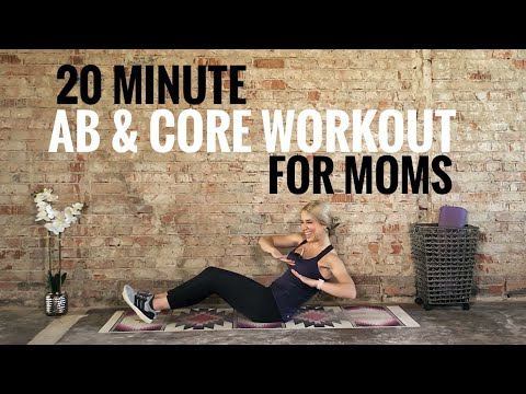 20 Minute Ab & Core Workout for Moms | Beginner friendly | Low impact | Works your entire core!