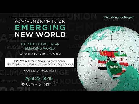The Middle East In An Emerging World