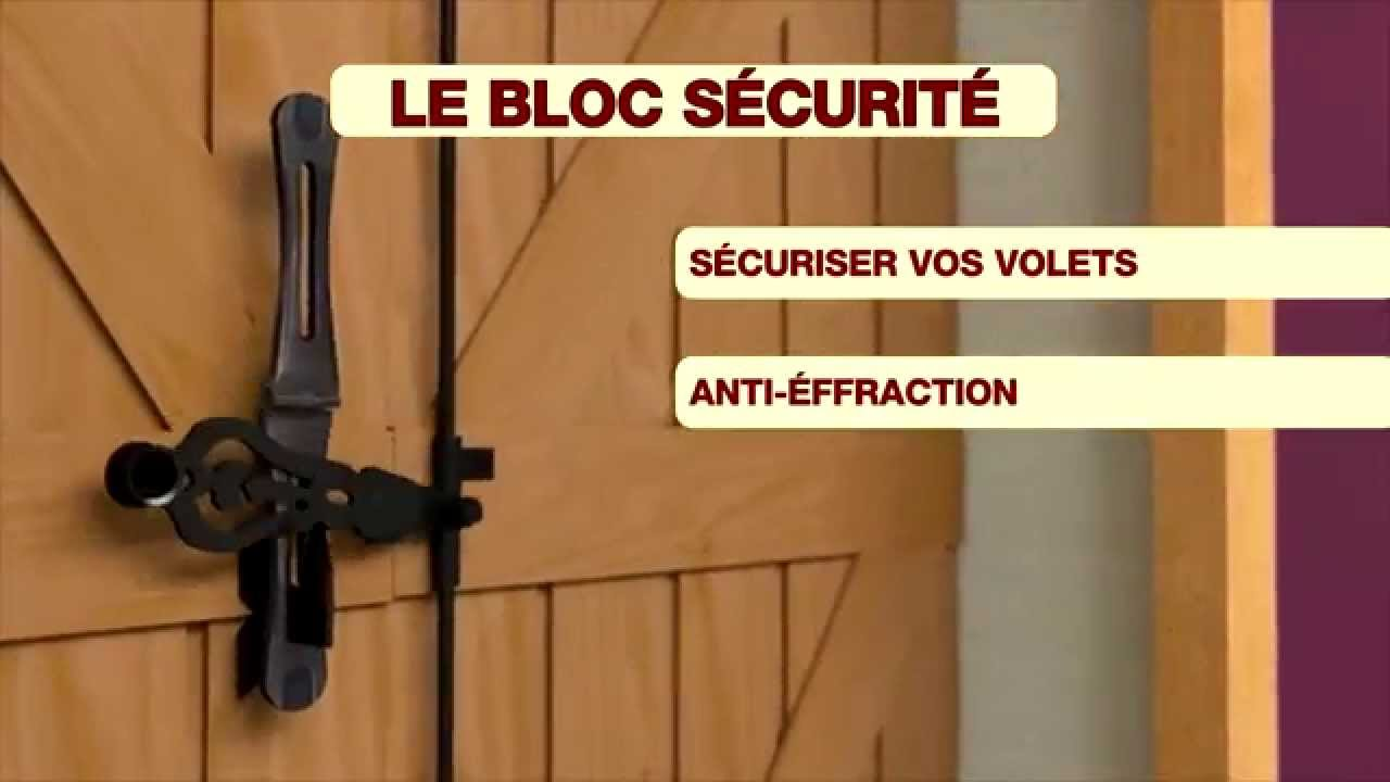 Bloc Sécurité YouTube - Barre anti effraction porte