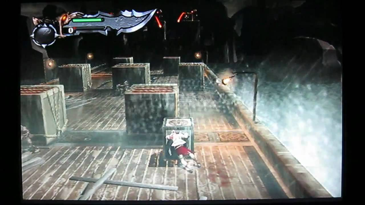God Of War Ps2 Component Vs Scart Youtube