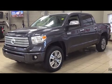2016 toyota tundra platinum crew max review - youtube