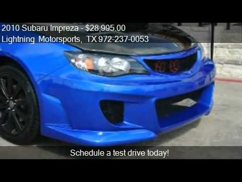 2010 Subaru Impreza WRX - for sale in Grand Prairie, TX 7505