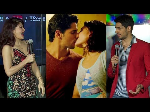 Sidharth Malhotra And Jacqueline Fernandez REACT On Their HOT KISSING Scenes In A Gentleman thumbnail