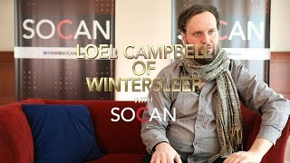 Loel Campbell of Wintersleep with SOCAN