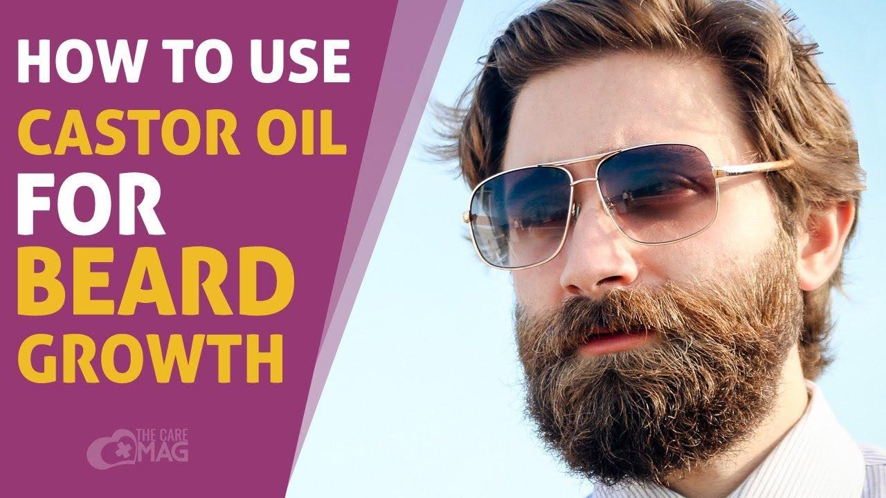 How To Use Castor Oil For Beard Growth