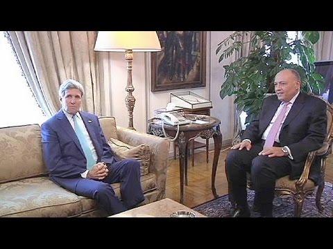 Faixa de Gaza: John Kerry quer que o Hamas aceite o cessar-fogo