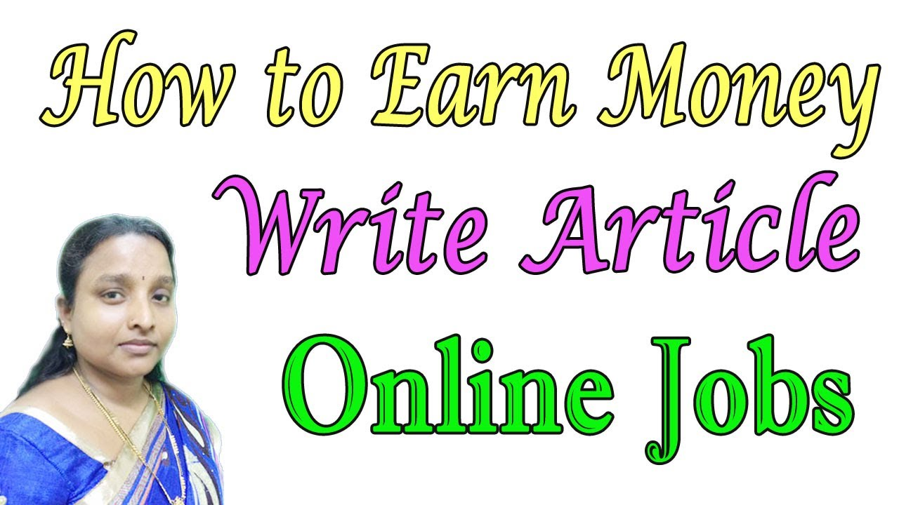 How to get writing jobs