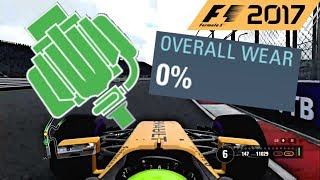 F1 2017 Game Glitch With Power Unit Wear @Codemasters