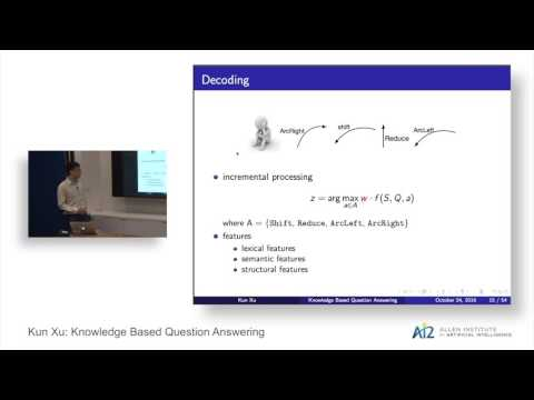 Kun Xu: Knowledge Based Question Answering