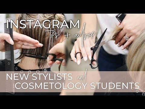 Instagram Tips for Cosmetology Students, Assistants, and New Hairstylists | Beauty School Advice