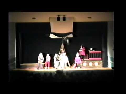 PETER PAN PARK VIEW MIDDLE SCHOOL DRAMA CLUB CRANSTON RI 2001