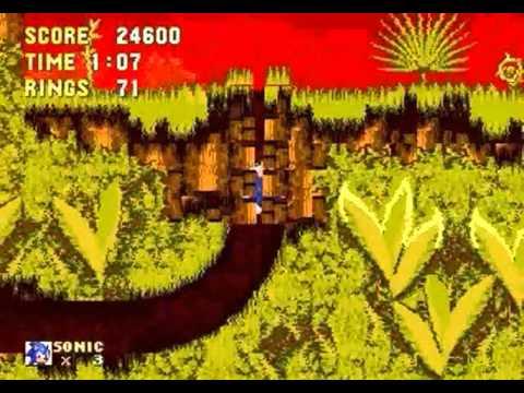 Cooler Sonic in Sonic 3 & Knuckles (Genesis)