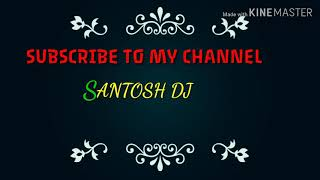 फु बाई  फू  SANTOSH DJ Marathi song ping pong##