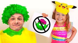 Las reglas de conducta para niños. Canciones Infantiles con Maya y Mary.