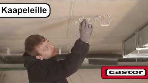 Kiinnikkeet betoniin ja kevytbetoniin, Castor AS