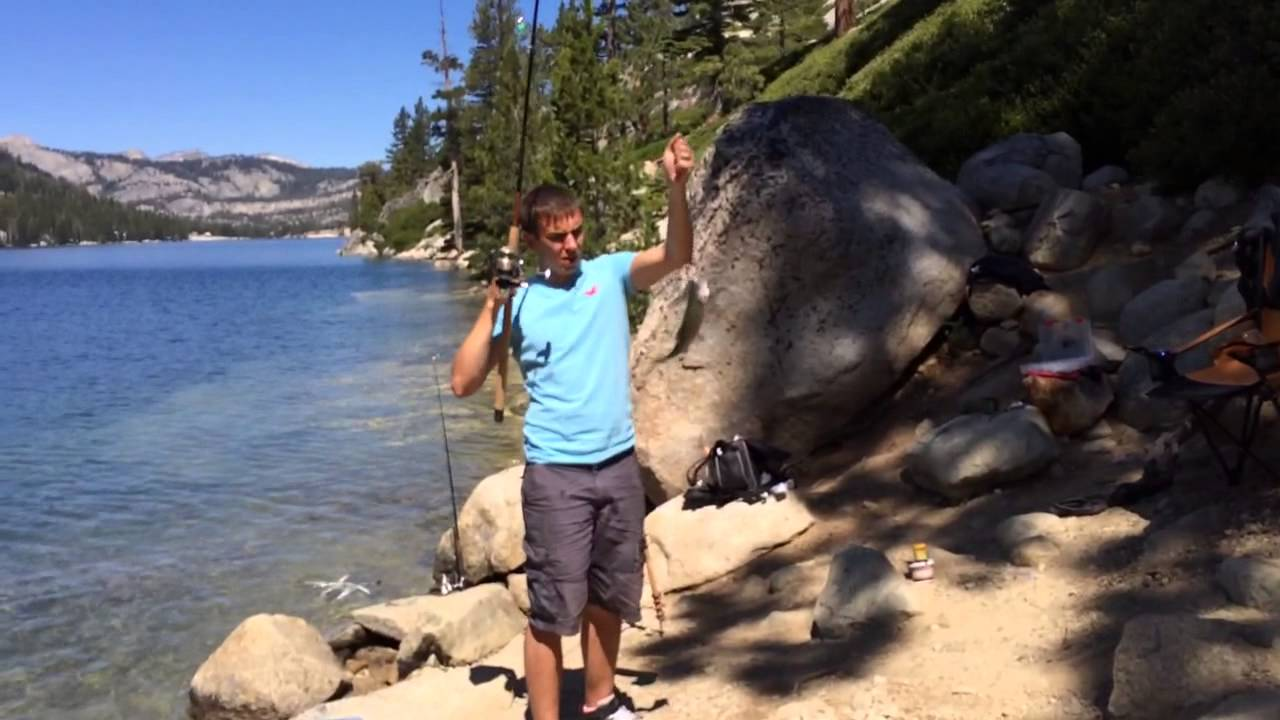 Fishing echo lake california 2014 youtube for California out of state fishing license