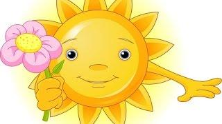 ☼ ☼  ☼ Мультик про солнышко ☼ ☼ ☼ Sunny day cartoon for kids ☼ ☼ ☼
