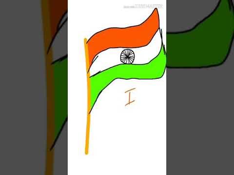 I LOVE MY INDIA | Drawing | Mrinmoy Barman
