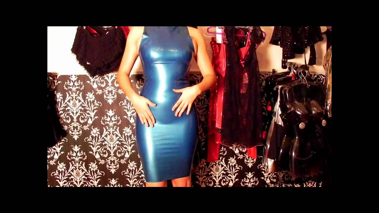 85e214456 Vestido de latex Magnific Dress na Fetish Shiny Boutique especializada em  roupas de latex e vinil