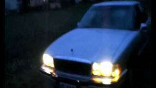 1991 Buick Park Avenue 3.8 V6  - with NO exhaust (movie compilation)