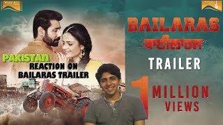 Pakistani Reaction on Bailaras (Trailer) Binnu Dhillon - Prachi Tehlan