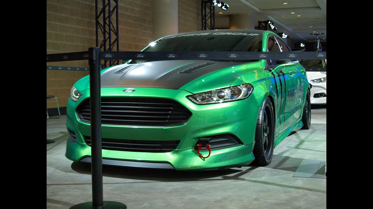 Ford Fusion Taitanium 2014 Modified Wide Body Youtube