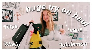 huge try on clothing haul // spring 2020