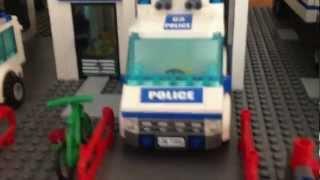 Massive 7 Storey lego Police Station