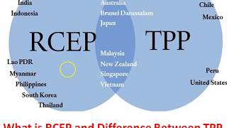 What is RCEP and Difference between RCEP & TPP for IAS, Deep Analysis