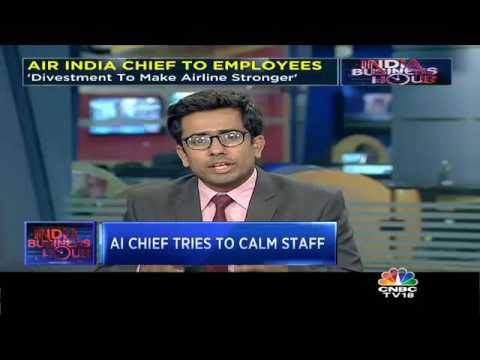 Air India Chief Writes To Employees On Divestment