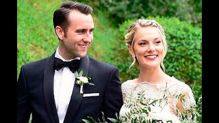 Звезда фильмов о Гарри Поттере Мэттью Льюис женился: фото со свадьбы