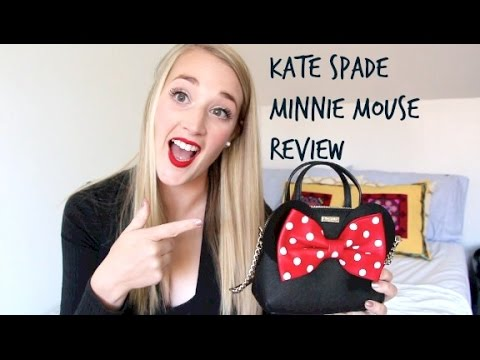 Kate Spade Minnie Mouse Review + What's In My Bag