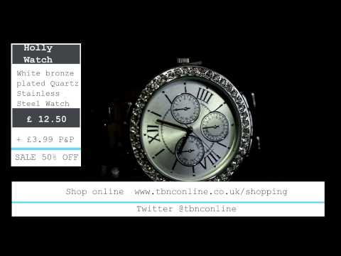 Shopping Channel - Ladies Watch Sale Item