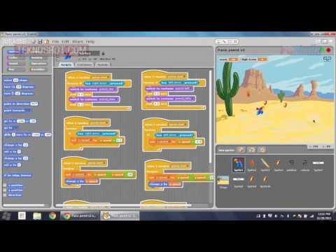 Membuat Game Flash Dengan Aplikasi Scratch | Tutorial By PC Media Teknoshot